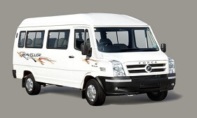 12 Seater Tempo Traveller in Hyderabad