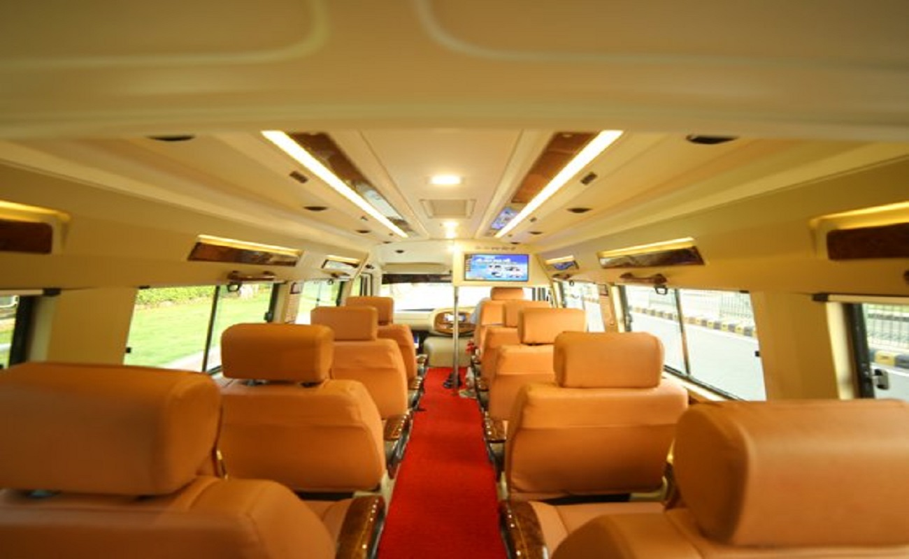 12 seater tempo traveller hire delhi