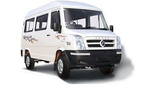 15 seater tempo traveller hire