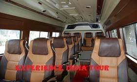 16 seater tempo traveller hire delhi