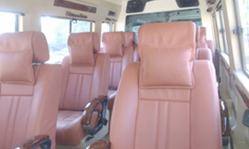16 seater tempo traveller hire Ahmedabad