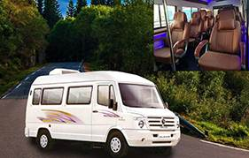 12 seater tempo traveller hire