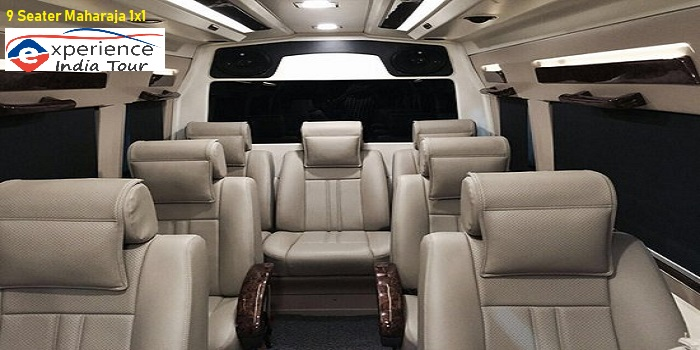 Mercedes Tour Van >> 9 Seater Tempo Traveller Hire in Delhi Gurgaon Noida, 9 ...