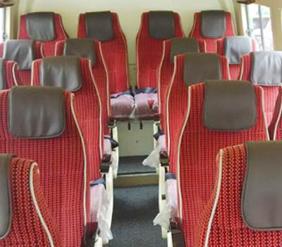 20 seater tempo traveller hire
