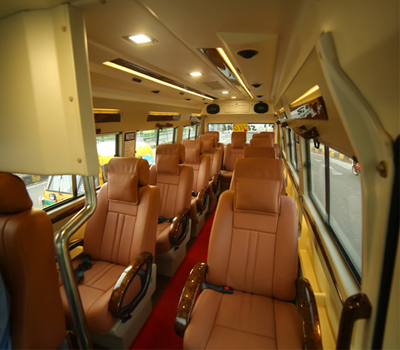 9+1 seater tempo traveller hire