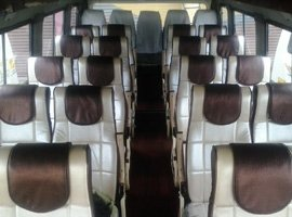 tempo traveller interior view